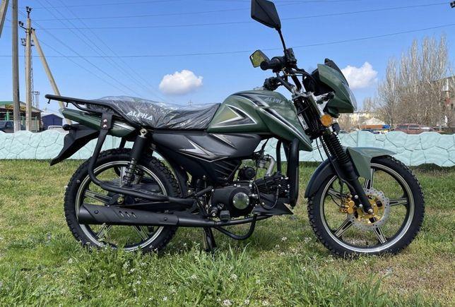 Мопед Alpha RS12 Green Millennium 125