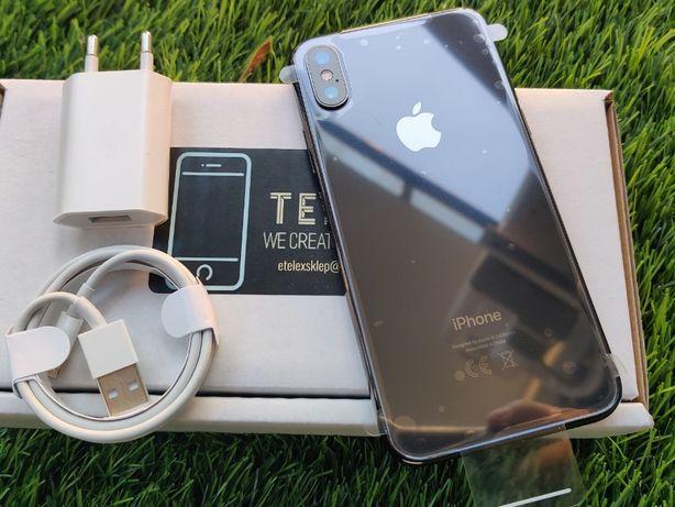 IPhone X 64GB SILVER Srebrny Biały Szary Jak Nowy Gwarancja