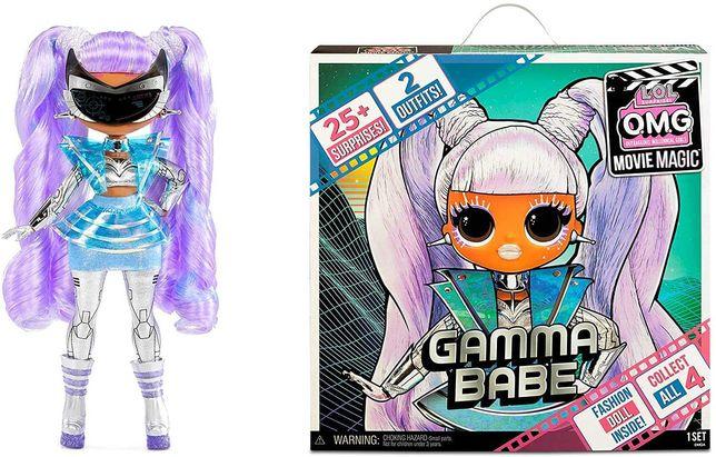 Куклы LOL OMG Movie Magic Леди Галактика Gamma Babe Звездочка