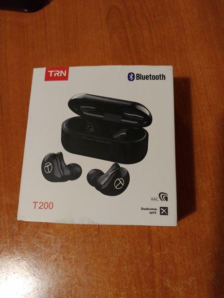 Tws bluetooth наушники TRN T200