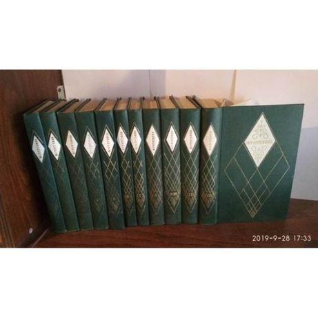И.С. Тургенев, собрание сочинений в 12 томах, комплект из 11 книг, 197