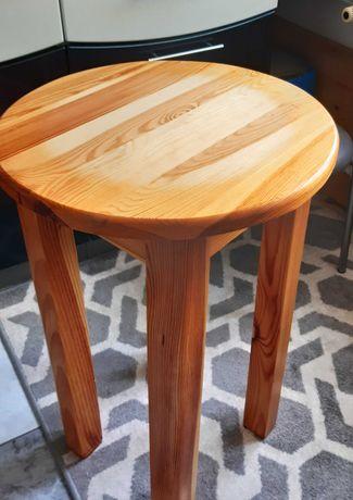 Stół okrągły drewniany sosnowy