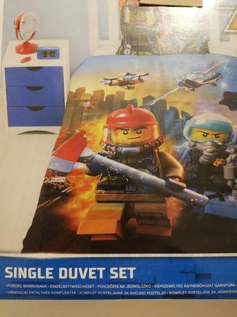 Lego City pościel 140x200