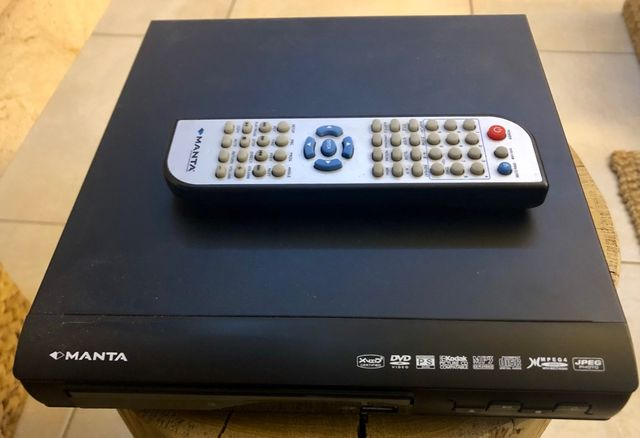 DVD Manta Emperor Basic 4 - uszkodzone