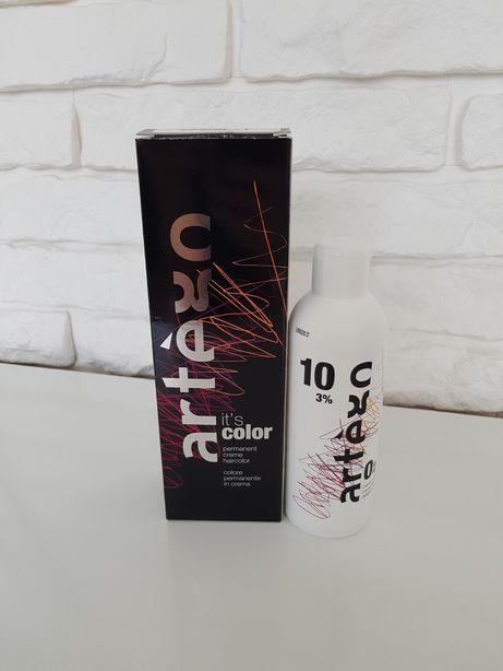 Farba Artego It's color + woda utleniona 3% Medium Brown