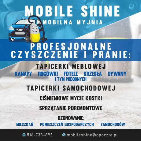 Mobile Shine- czyszczenie i pranie tapicerki meblowej, samochodowej
