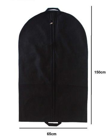 Pokrowiec torba na odzież o wymiarach 65x150 KOLORY - wyprzedaż