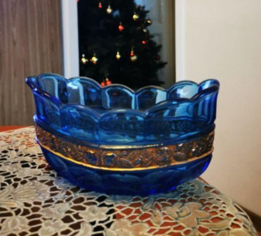 Stare naczynie - szkło - stan bardzo dobry.- kolekcje.