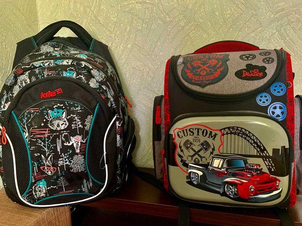 Рюкзаки школьные для мальчика TM Kite и Delune