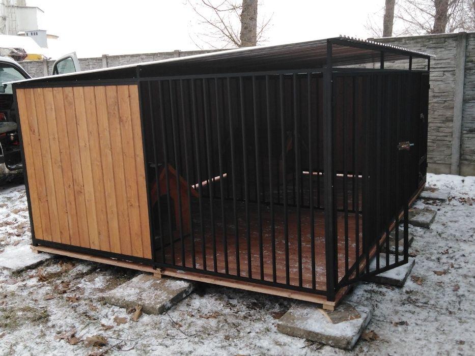 Kojec dla psa 3x3,5 m Kojce dla psów Koprzywnica - image 1