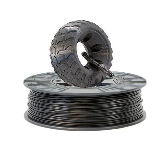 Filamento de Borracha para Impressoras 3D