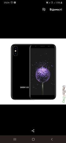 Смартфон Doogee x55 черный