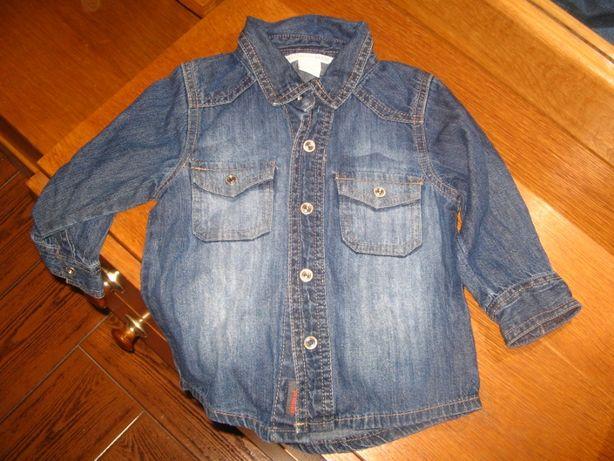 Camisa marca H&M tamanho 80 - 9 a 12 meses