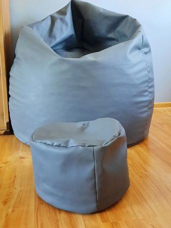Saco fotel kolor szary