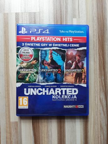 Uncharted Nathan Drake Collection ps4 PL