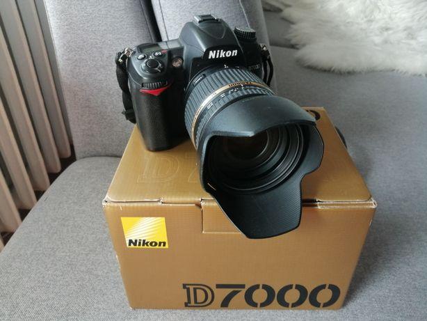 Aparat Nikon D7000 + obiektyw Tamron 17-50mm /2.8 Di II VC