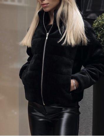 Курточка из бархата, р.xs