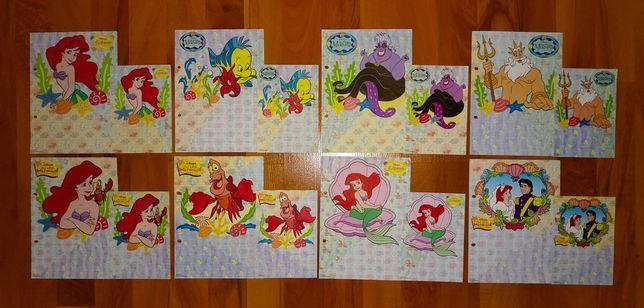 Karteczki Mała Syrenka - A5 i A6