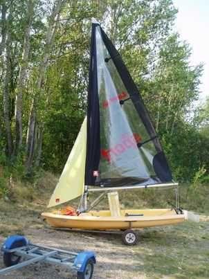 łódź plażowa / jacht żaglowy Laser Pico bez patentu i rejestracji