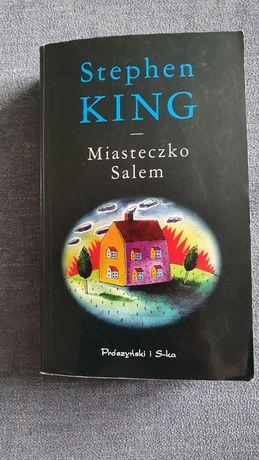 """Książka Stephen King """"Miasteczko Salem"""""""
