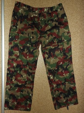 армейские штаны в камуфляже альпенфляг, Швейцария
