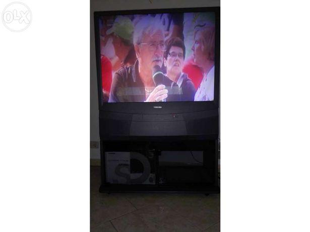 Tv projector traseiro toshiba 43pj93g