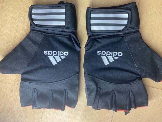 Перчатки Adidas для фитнеса, зала, тяжелой атлетики, пауэрлифтинга