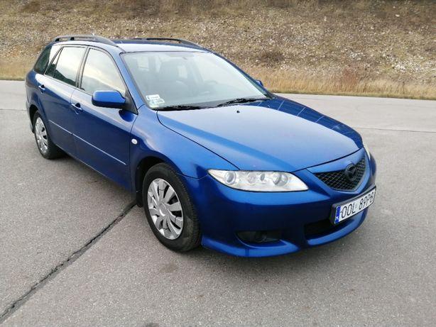 Mazda 6 1,8i !!! GAZ !!! 2002 Rok