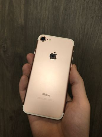 IPhone 7 32GB Rose Gold Neverlock Оригинал айфон 7 бу