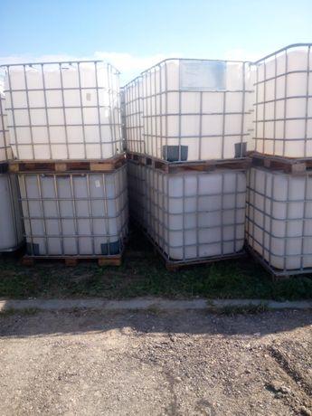 Zbiornik mauzer mauser 1000l beczka na wodę paliwo rsm