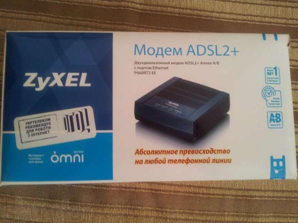 Продаю ADSL модем Zyxel
