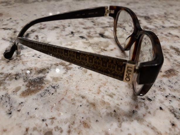 Okulary, oprawki LIU JO z soczewkami astygmatyzmem