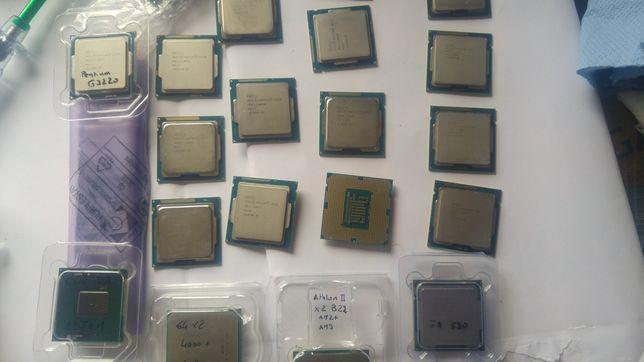 Vários processadores lga 1150 e 1155