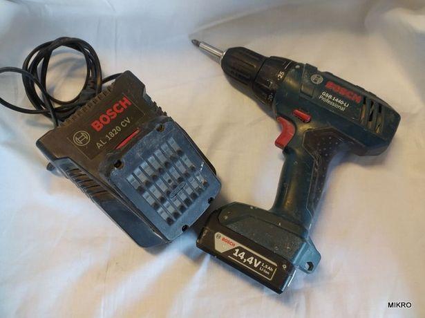 Wiertarko-wkrętarka Bosch GSR 1440 LI