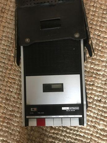 Leitor gravador cassetes
