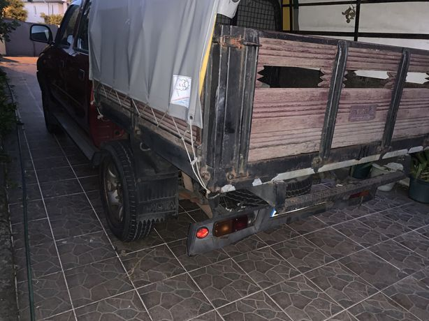 corrocaria caixa madeira TOYOTA HILUX