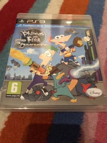 PlayStation 3 - Jogo Phineas and Ferb