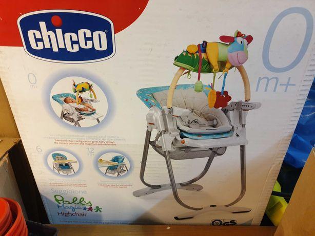 Krzesełko do karmienia chicco 3w1