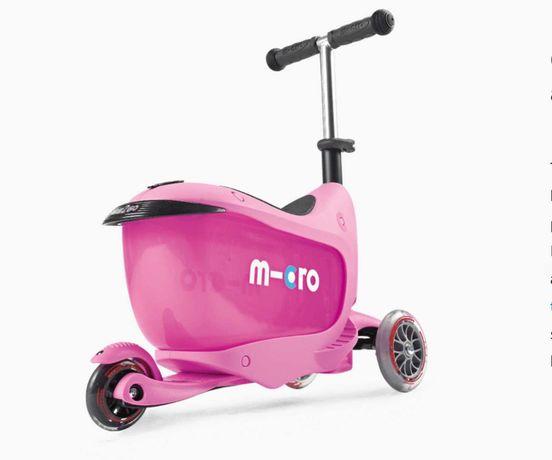 Самокат детский Micro Mini2go Classic Pink б/у в отличном состоянии