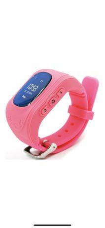 Детские телефон-часы с GPS трекером GOGPS ME K50 Pink
