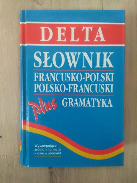 Słownik francusko-polski, polsko-francuski plus gramatyka
