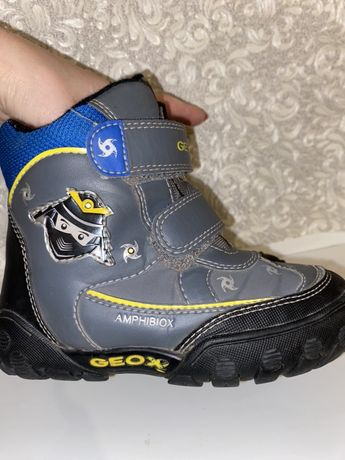 Зимние термо ботинки сапоги Geox