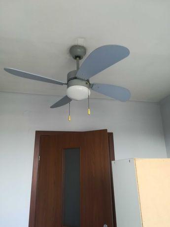 Lampa, wiatrak, wentylator