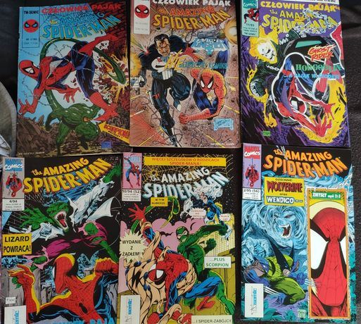 Spiderman Tm-semic 92, 93, 94, 95