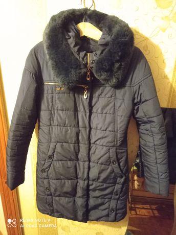 Зимова куртка плащ