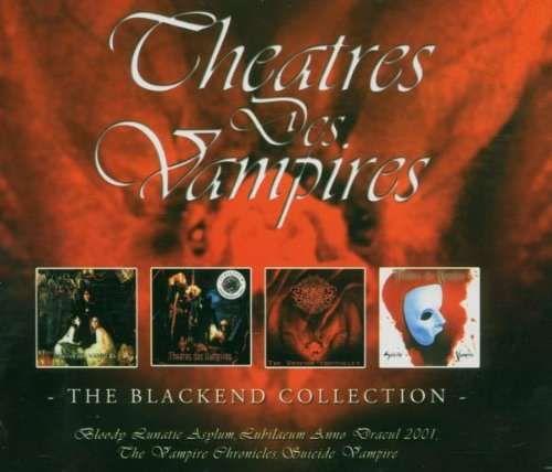 Theatres des Vampires - Blackend collection (4 álbuns)