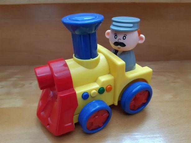 Comboio musical anda sozinho