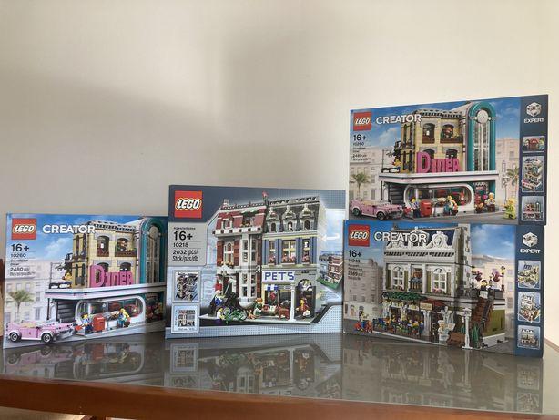 Lego Creator Expert Modelares 10255/10260/10264/10214/10232 /10218