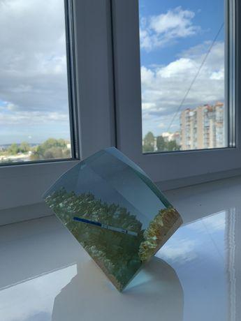Епоксидна смола кристал подарунок epoxy resin crystal