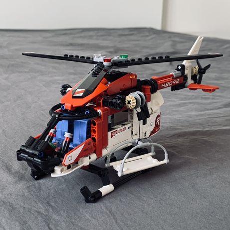 LEGO Technic 42092 - kompletny śmigłowiec, helikopter ratunkowy